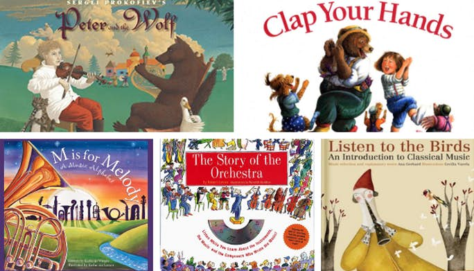 15 Music Books for Kids