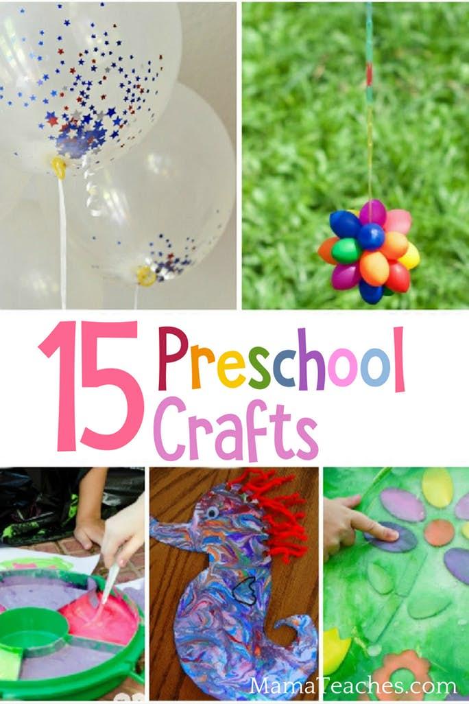 15 Preschool Crafts