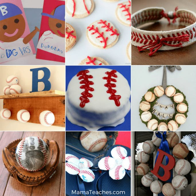 19 Baseball Crafts for Teens