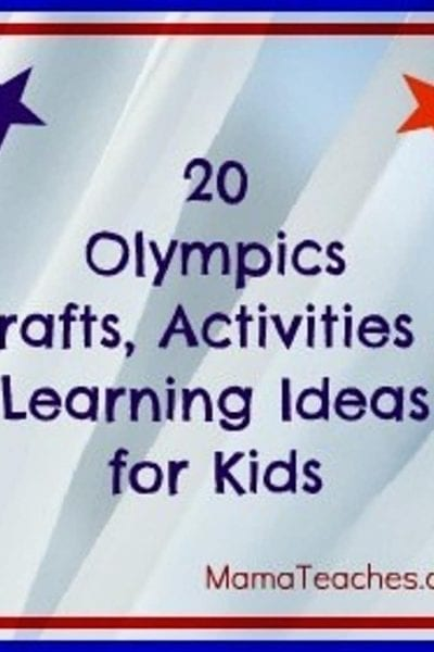 20 Olympic Crafts, Activities, and Learning Ideas for Kids