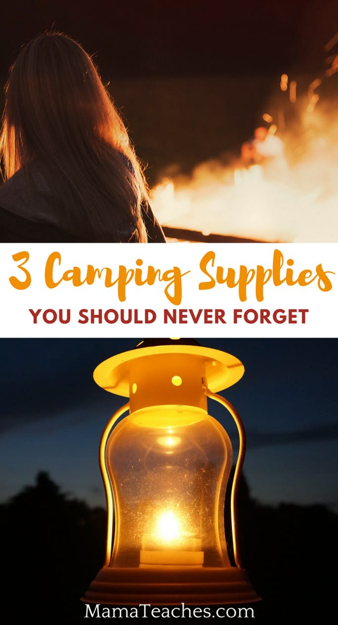 3 Camping Supplies You Should Never Forget