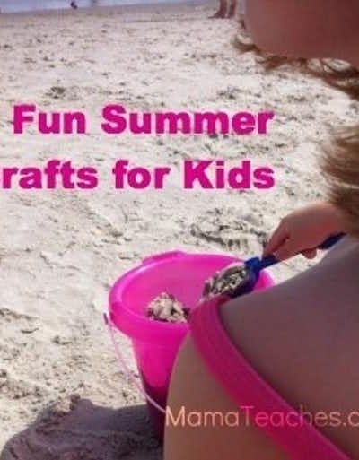 3 Fun Summer Crafts for Kids