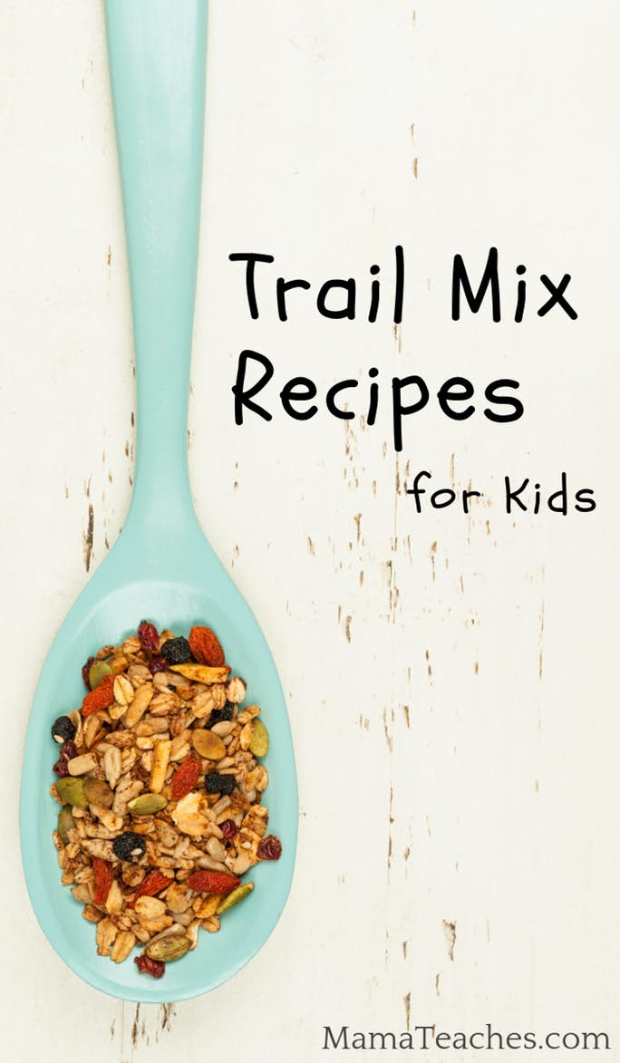 3 Kid-Created Trail Mix Recipes for Picky Eaters