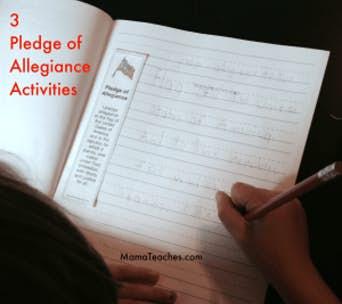 3 Pledge of Allegiance Activities