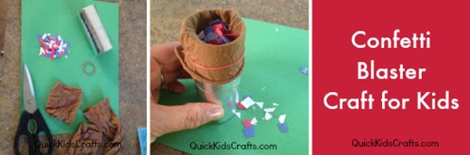 4 Kids Crafts for the 4th of July