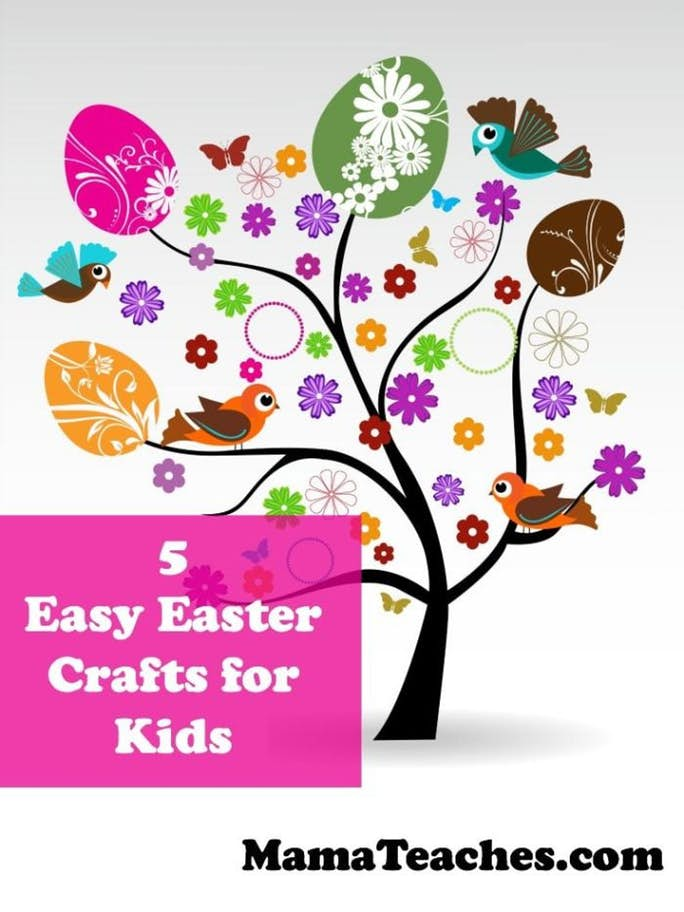 5 Easy Easter Crafts for Kids