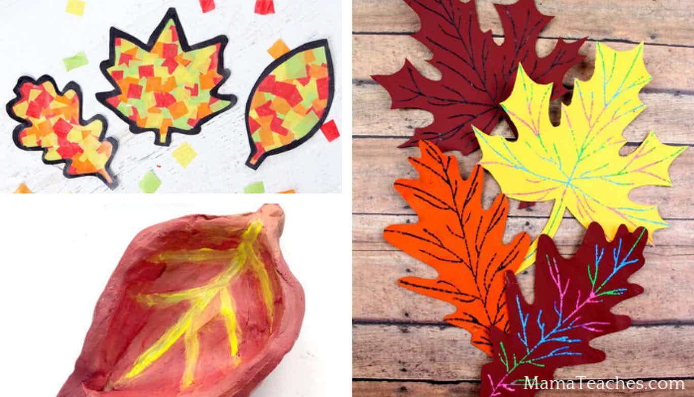 5 Fun Fall Leaf Crafts for Kids