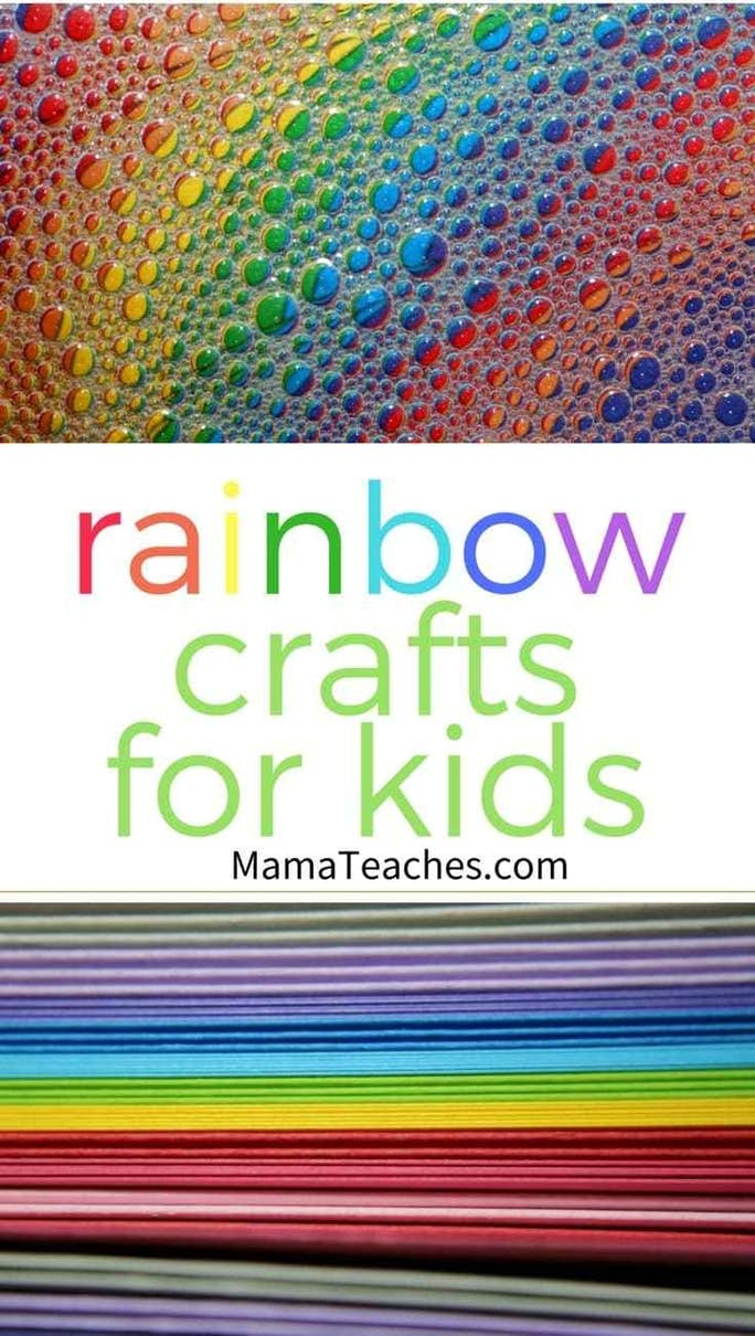 7 Quick Rainbow Crafts for Kids