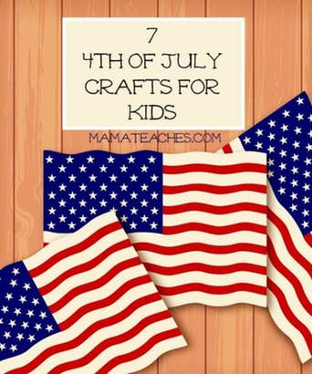 7 4th of July Crafts for Kids