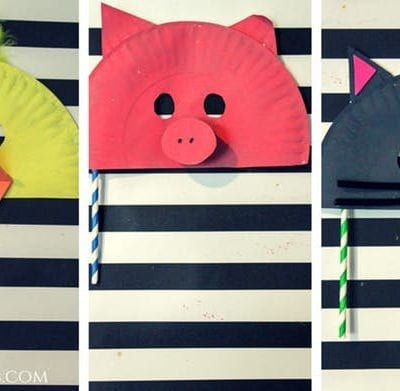 Animal Mask Craft for Kids