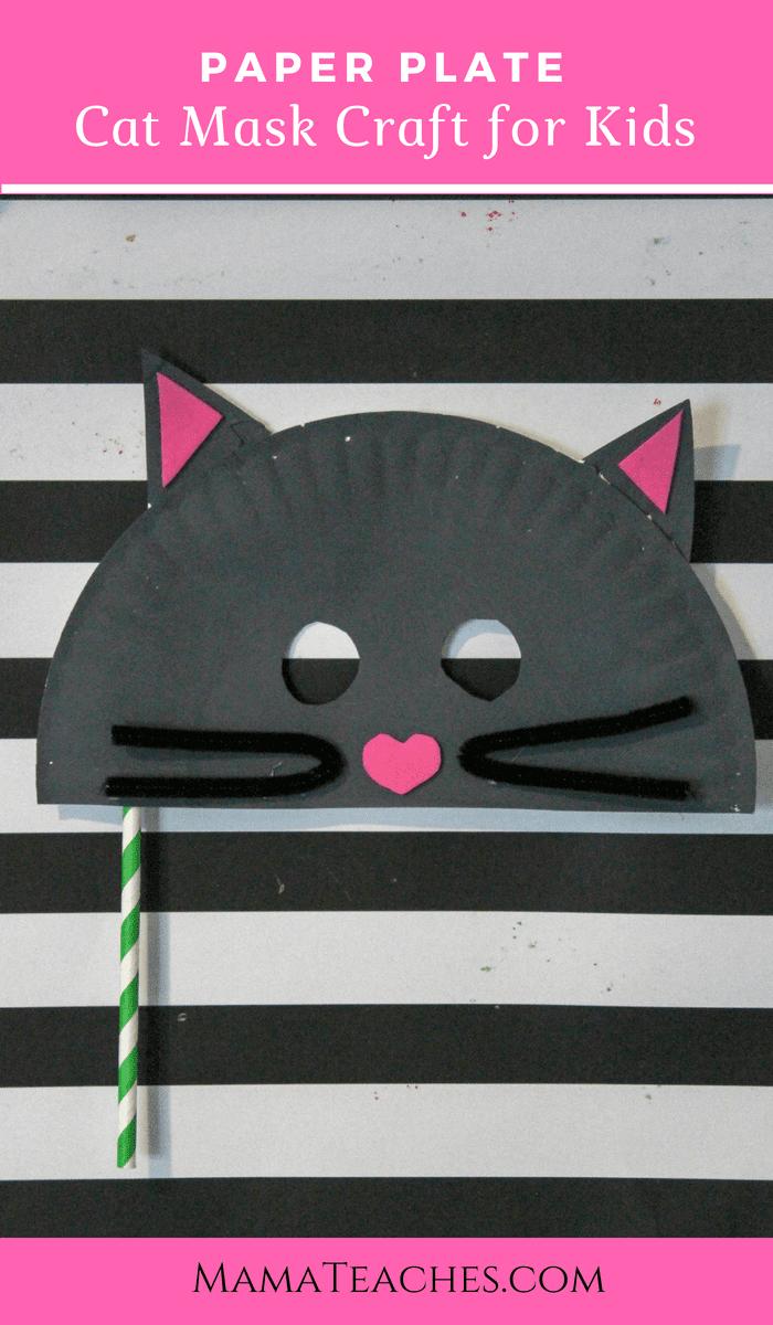 Animal Mask Craft for Kids