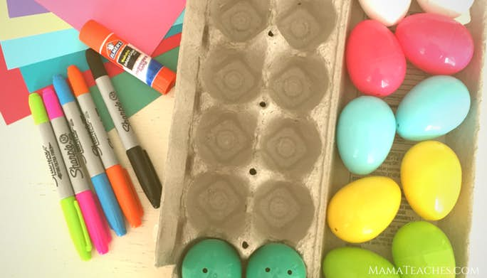 Crazy Eggs Word Family Game - A Reading Game for Early Readers