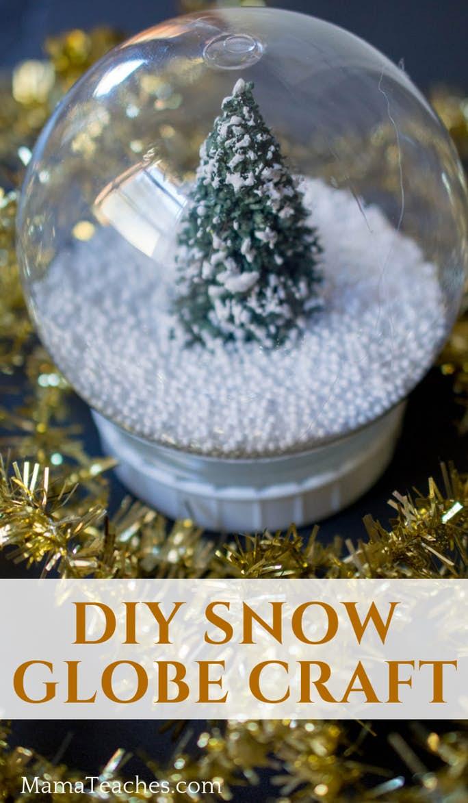 DIY Snow Globe Craft