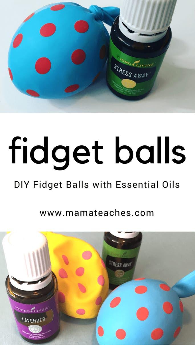 DIY Stress Away Fidget Balls
