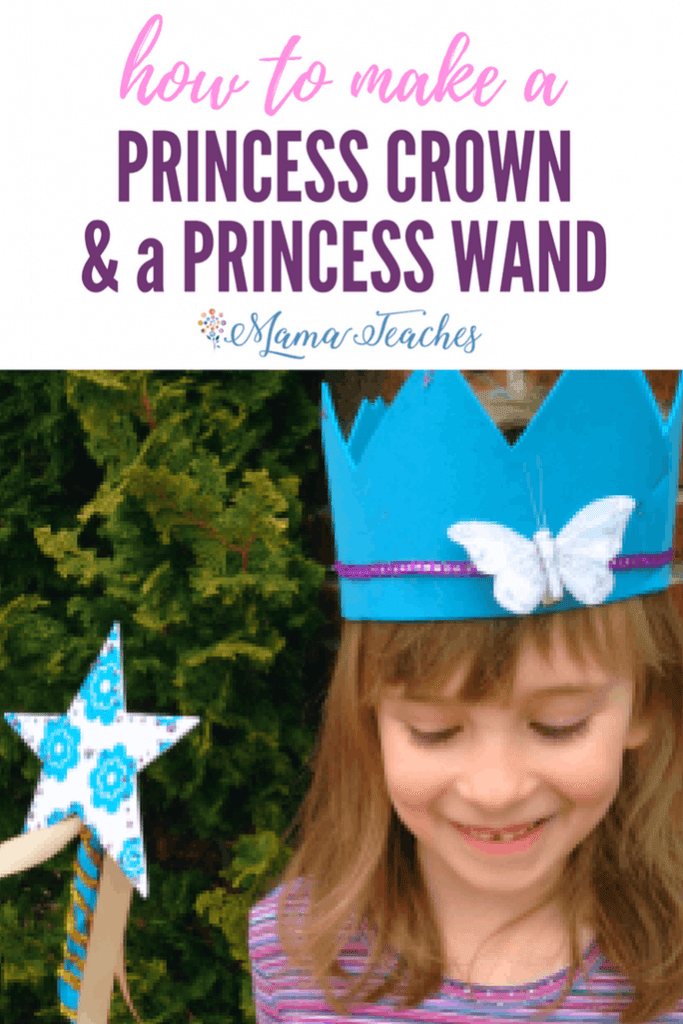 Easy Princess Crown and Wand Crafts for Kids