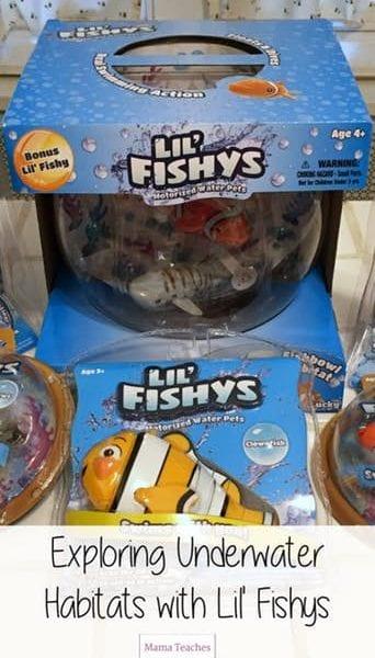 Explore Underwater Habitats with Swimming Fish Toys