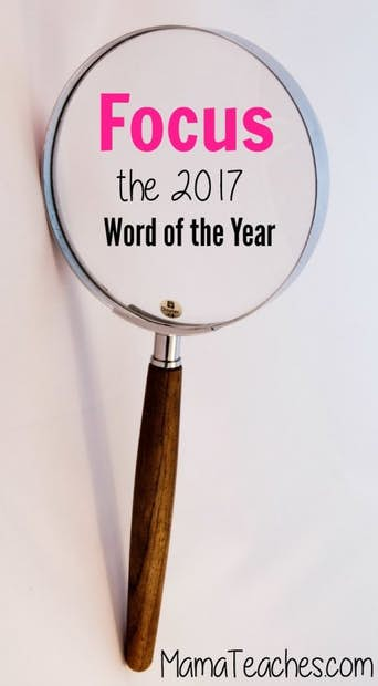 Focus – 2017 Word of the Year