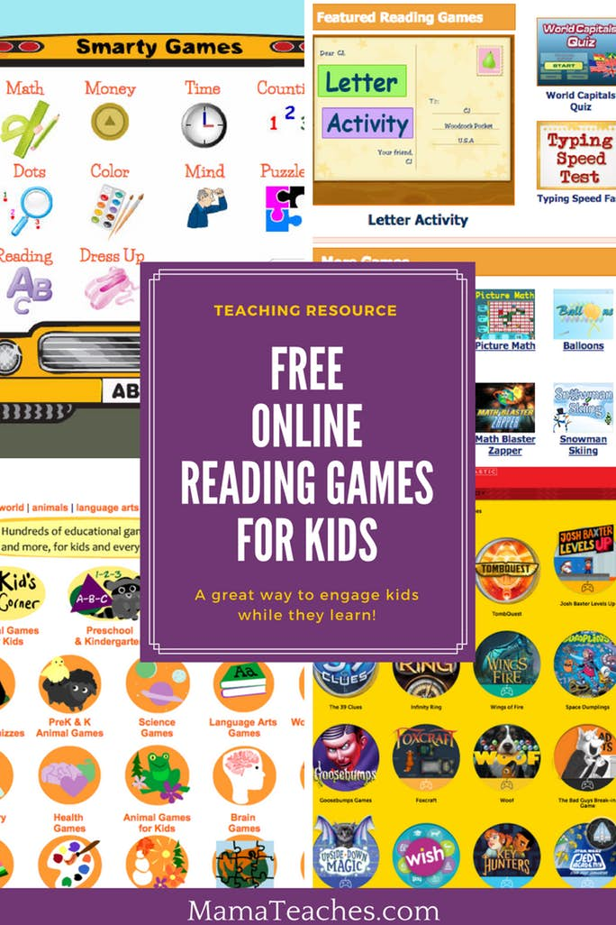 Free Reading Games for Kids