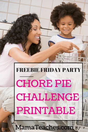 Chore Pie Chart