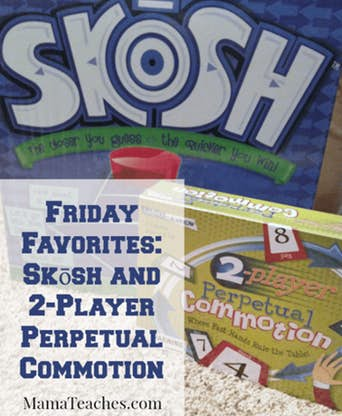 Friday Favorites: Skōsh and 2-Player Perpetual Commotion