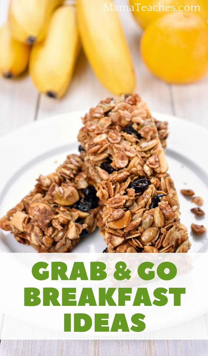 Grab and Go  Breakfast Ideas