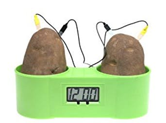 Homeschool STEM Time! Make an Easy Potato Clock