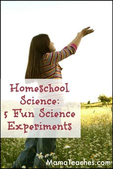 Homeschool Science: 5 Fun Science Experiments