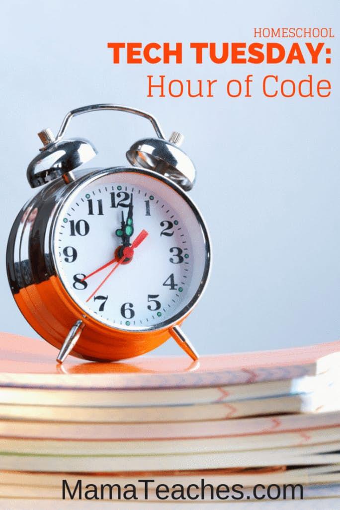 Homeschool Tech Tuesday: Hour of Code