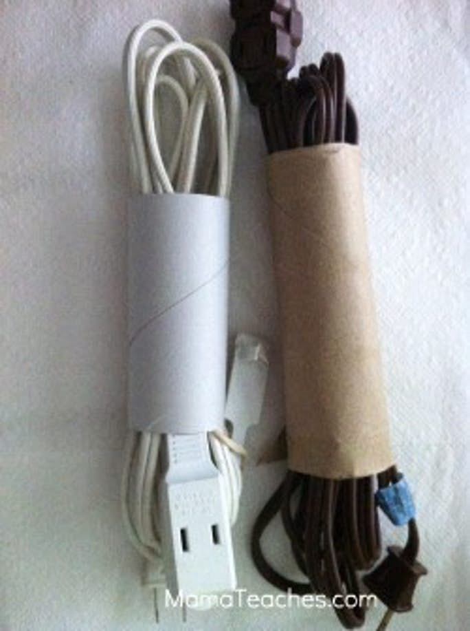 How to Easily Store Extension Cords