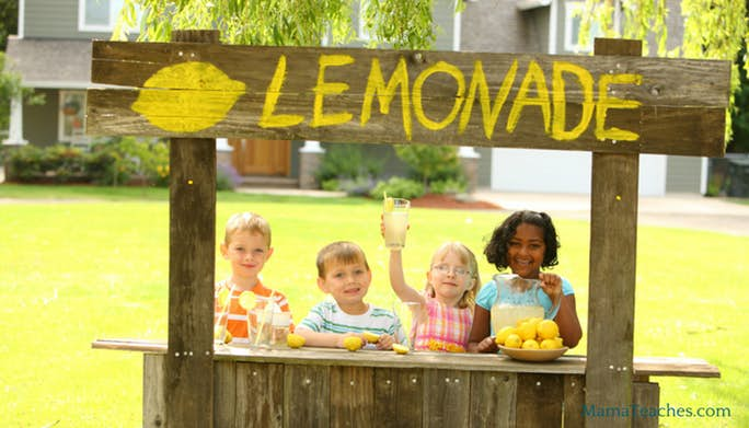 How to Have a Successful Kids Lemonade Stand