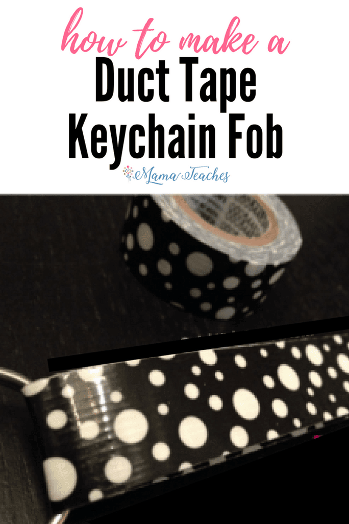 How to Make a Duct Tape Keychain Fob