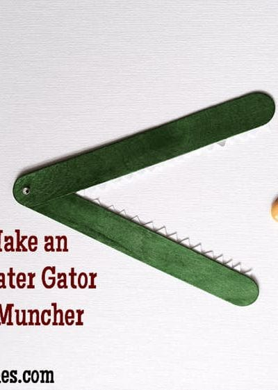 How to Make an Easy Greater Gator Activity