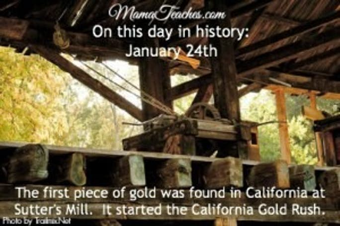 On This Day in History: California Gold Rush