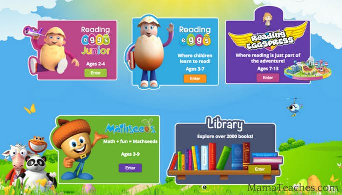 Online Reading Game for Kids