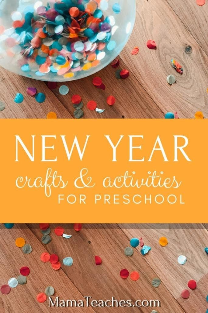 Preschool New Year's Activities