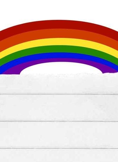 St Patrick's Day Rainbow Writing Paper