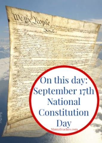 September 17th is Constitution Day