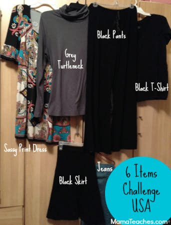 The 6 Item Challenge for Social Good