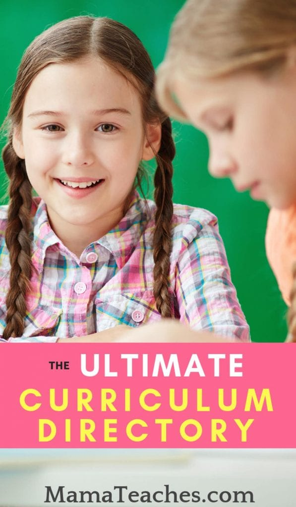 The Ultimate Homeschool Curriculum Directory