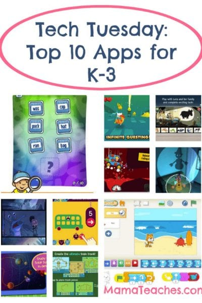 Top 10 Apps for K-3