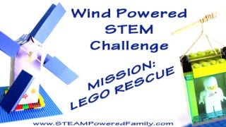 Wind Powered STEM Challenge - Mission: Lego Rescue