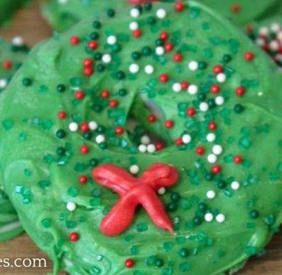 Wreath Christmas Cookies Recipe