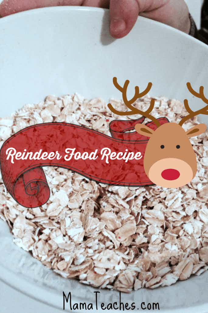 How to Make Reindeer Food for Santa's Reindeer