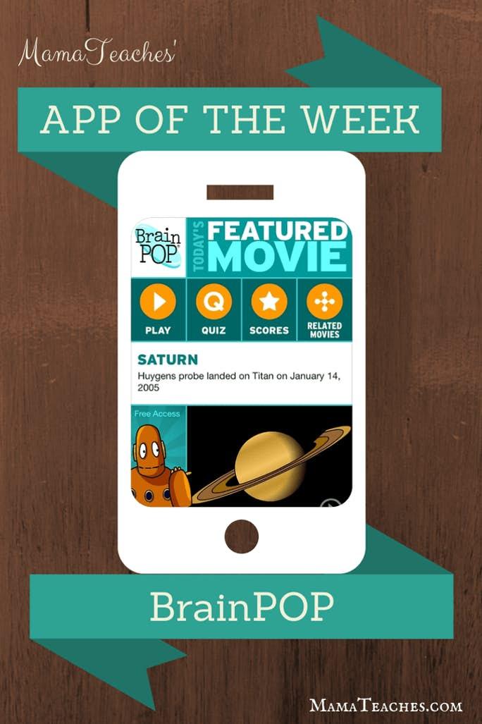 Free App of the Week – BrainPOP
