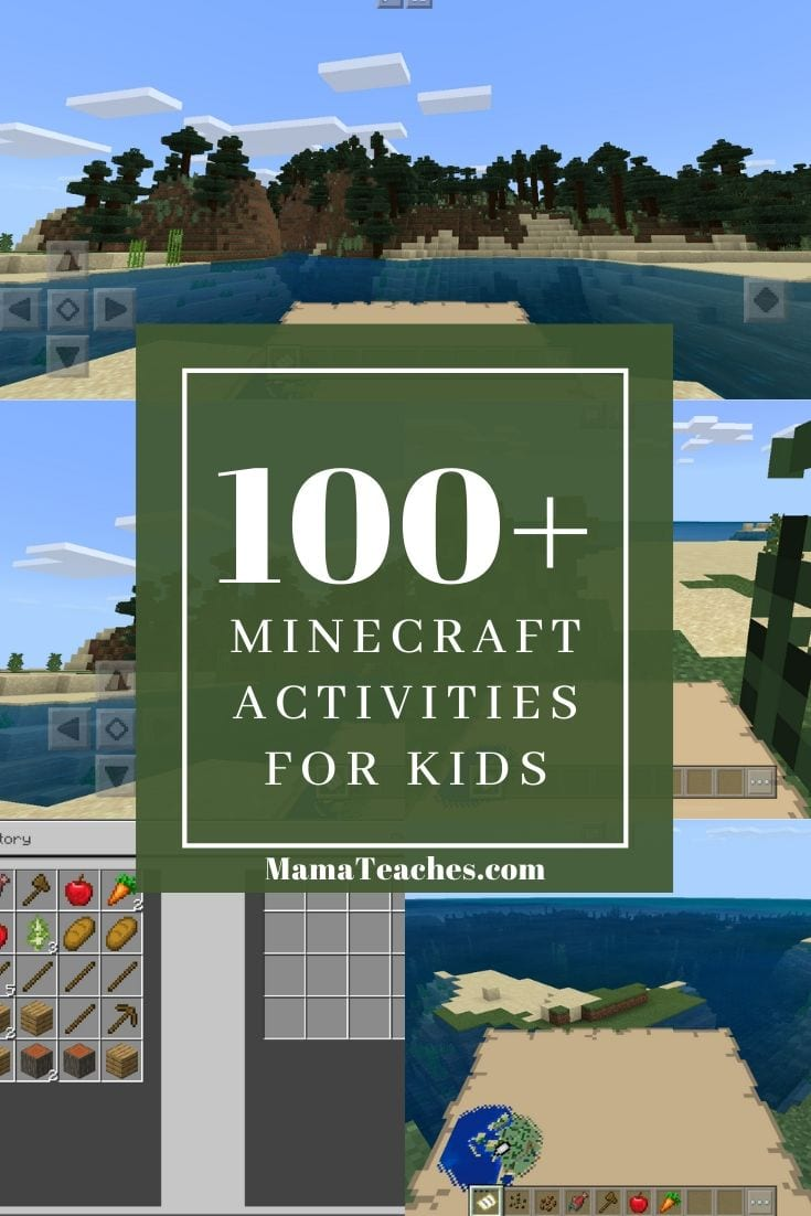 100 Minecraft Activities and Ideas - MamaTeaches.com