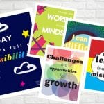 Growth Mindset Posters for Home and School - Free Printables