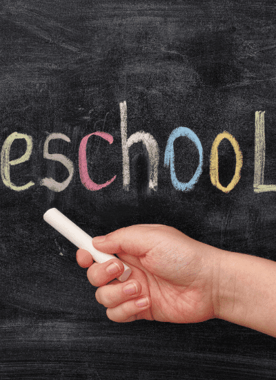 Creating a Homeschool Preschool Schedule