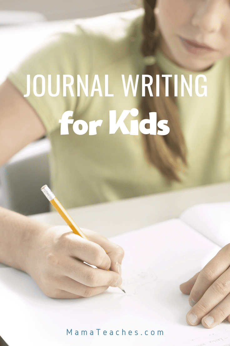Journal Writing for Kids - Journal writing can help ease anxiety, encourage a growth mindset, and ease worries in uncertain times.