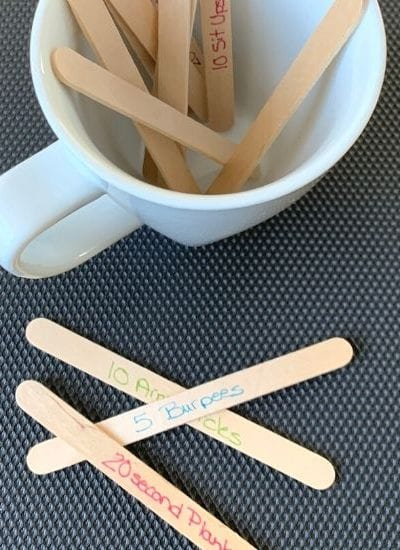 Movement Sticks - a Brain Break Exercise Activity for Kids - MamaTeaches