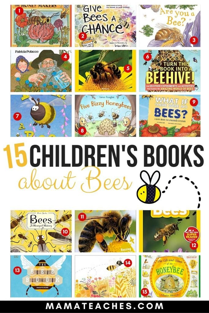 15+ Children's Books About Bees